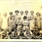 Martinsburg School - Primary Dept. Sept. 1936  Submitted by Lori Gothier  Jean Lanser is the only child that has been identified in the photograph.